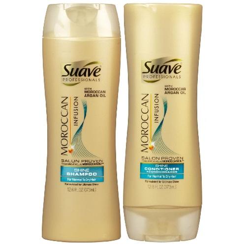Suave Moroccan infusion shampoo