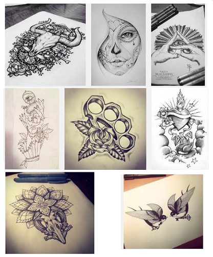 18 Best Tattoo Sketch Designs For Men And Women Styles At Life