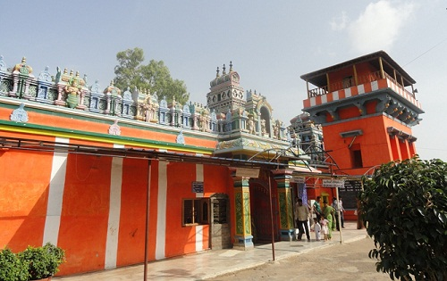 Karmanghat Hanuman Temple In Hyderabad