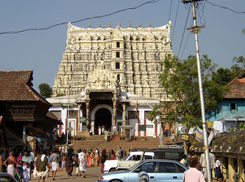 Padmanabhaswamy Temple In Thiruvanthapuram