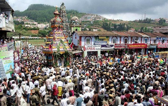 temples in ooty