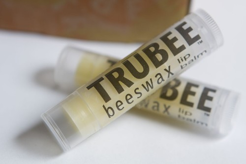 TruBee honey beeswax lip balm