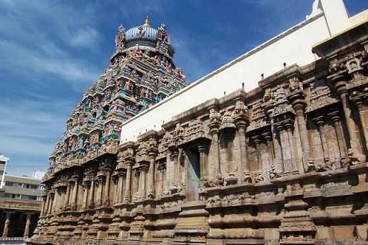 Koodal Azhagar Temple in Madurai, Tamil Nadu