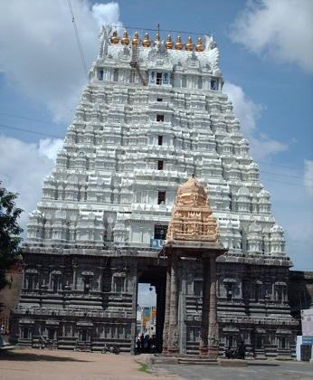 Sri Ulagalanda Perumal Temple in Kanchipuram, Tamil Nadu