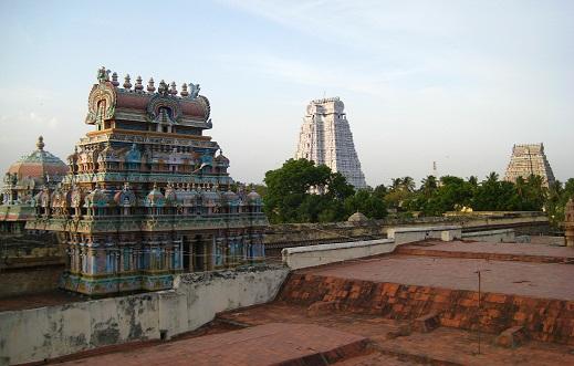 Sri Ranganathaswamy Temple in Srirangam, Tamil Nadu