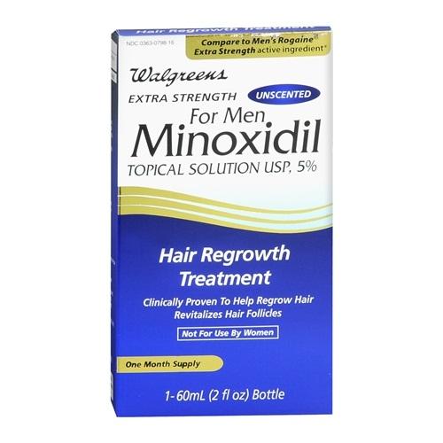 Walgreens minoxidil for men