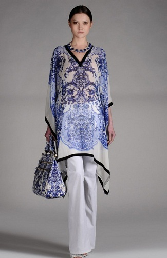 Wear kaftans in Indian Style