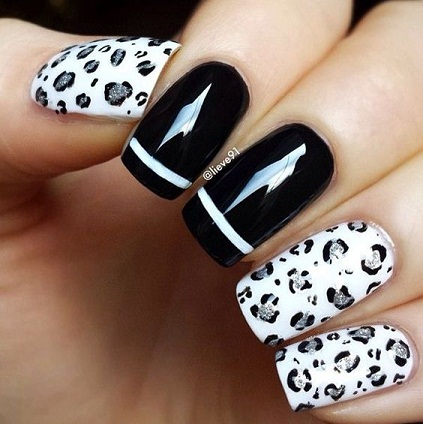 10 Latest Leopard Print Nail Art Designs With Images