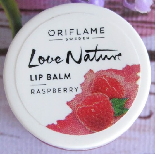 Love Nature Lip Balm Raspberry