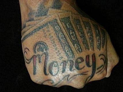 Money Tattoo Quote