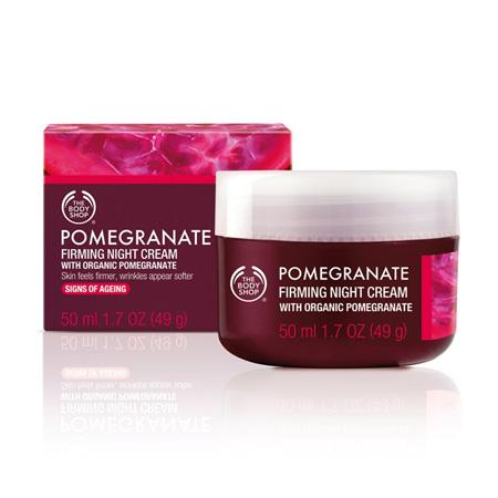 Body Shop Pomegranate Firming Night Cream
