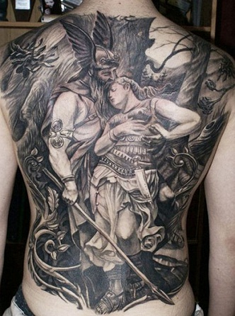 Warrior Tattoo1
