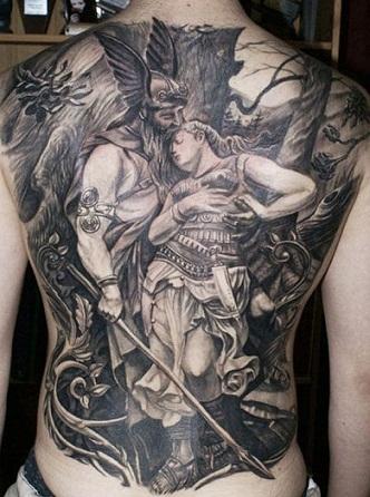 Warrior Tattoo1