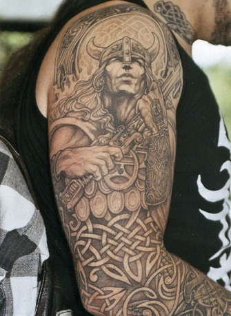 Warrior Tattoo3