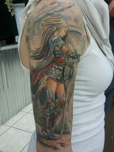 Warrior Tattoo4