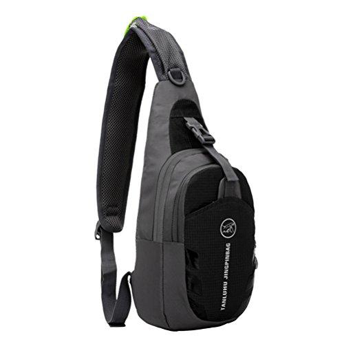 Adjustable Stripe Backpack