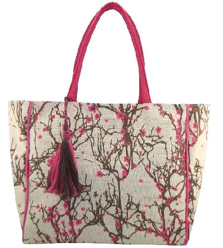 Anges Sakura Fuchsia Shoulder Bag