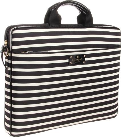 Black And White Laptop Bag