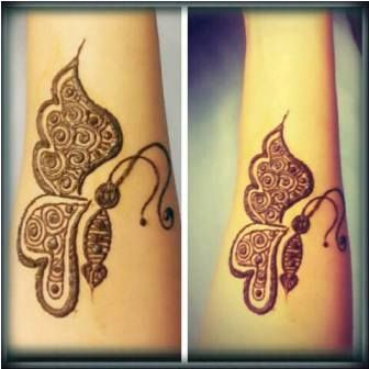 9 Ultimate Butterfly Mehndi Designs With Images Styles At Life