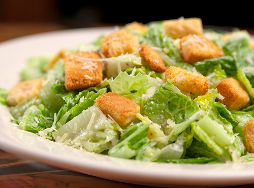 Caesar salad during pregnancy