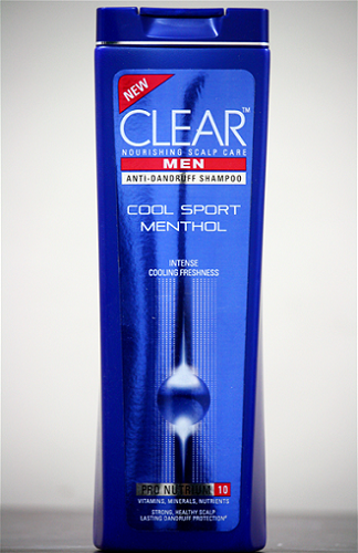 Clear Men Anti Dandruff Shampoo – Cool Sport Menthol