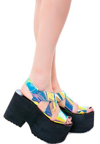 Fancy Sandals For Wedding Platforms 9