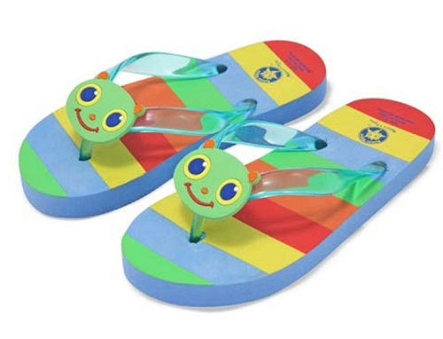 Flip Flops. This are one of the mostly used and preferred footwear among kids. It is perfect for homes and nearby places. This comes in quite varied prints