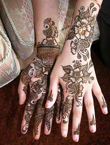 Monsoon Mehandi Designs