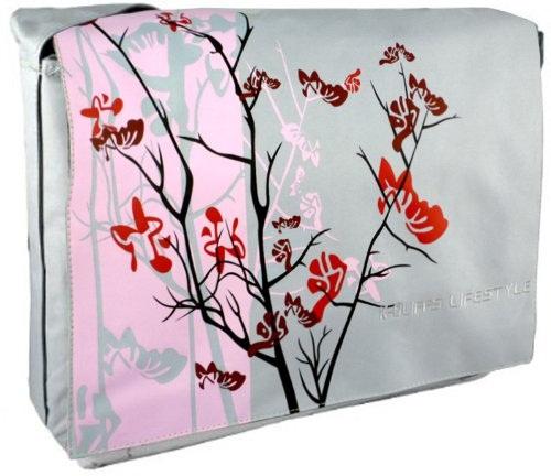 Floral Print Laptop Bag for Women