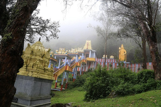 Honeymoon Places in Ooty-Elk Hill Temple