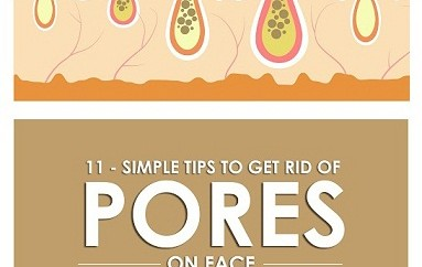 how to reduce open pores on face at home