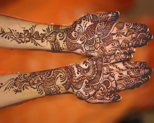 Mehndi Designs And Hairstyles : Latest diwali mehndi designs with images styles at life