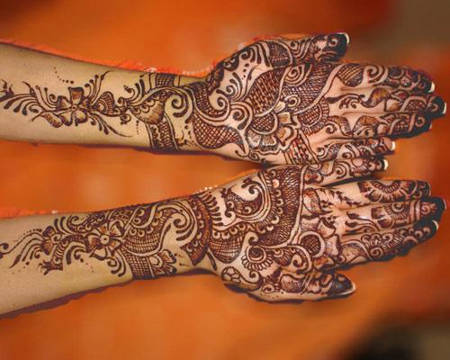 Mehndi Hand Patterns Diwali : Latest diwali mehndi designs with images styles at life