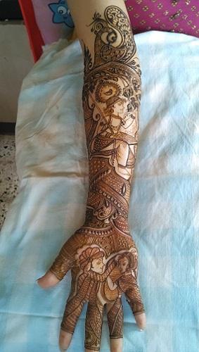 Jayshree Maru Mehndi Designs
