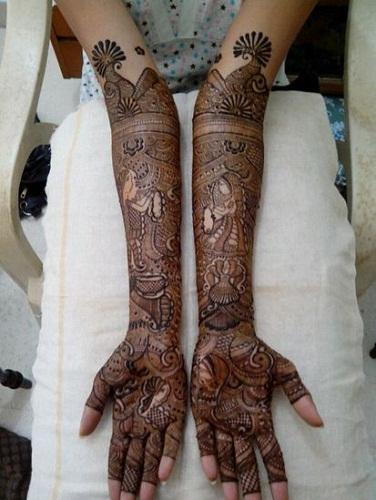 Jyoti Chheda Mehndi Designs