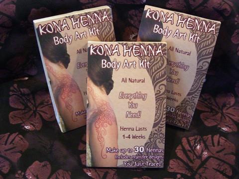 Kona Henna Body Art Kit