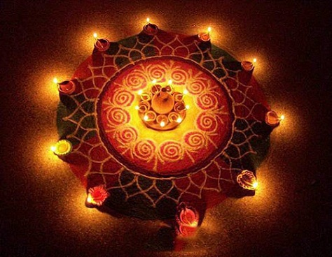 Latest Rangoli Designs-Diwali rangoli designs