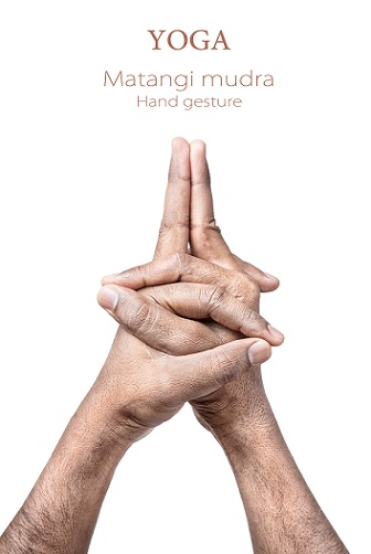 Matangi mudra - how to do