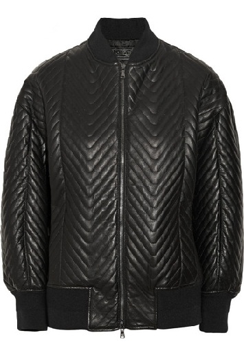 Neil Barrett Leather Jacket