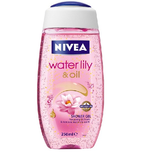 Nivea Bath Care Shower Water Lily Oil, 250 m