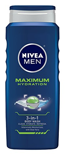 Nivea Men Maximum Hydration Aloe Vera 3-in-1 Body Wash