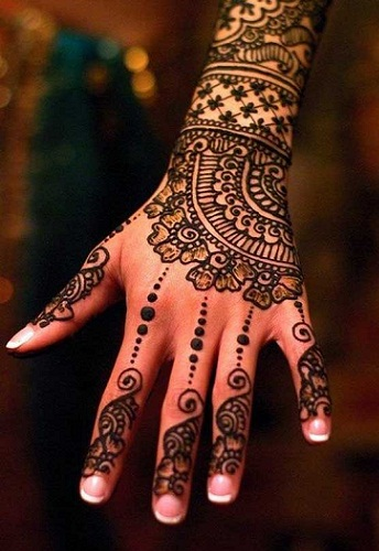 PARTY MEHNDI-Mughlai Mehendi Designs