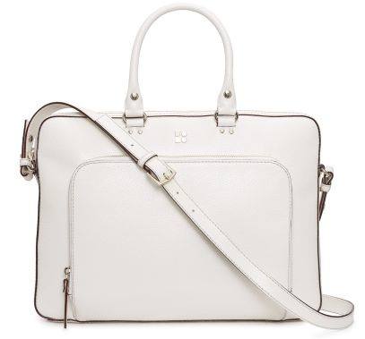 Pure White Laptop Bag