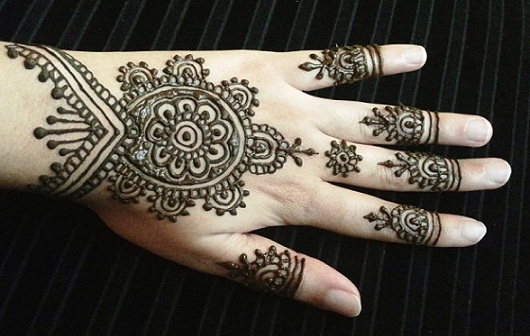 Quick Mehndi Patterns : Top quick and easy mehndi designs with images styles