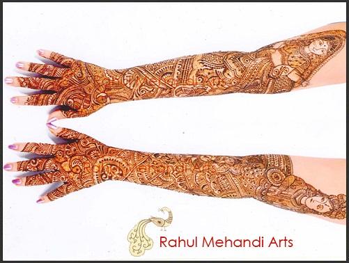 Rahul Sonavane Mehndi Designs