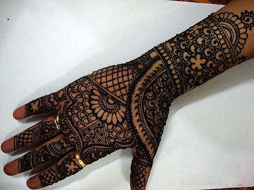 Rajeswari mehndi art