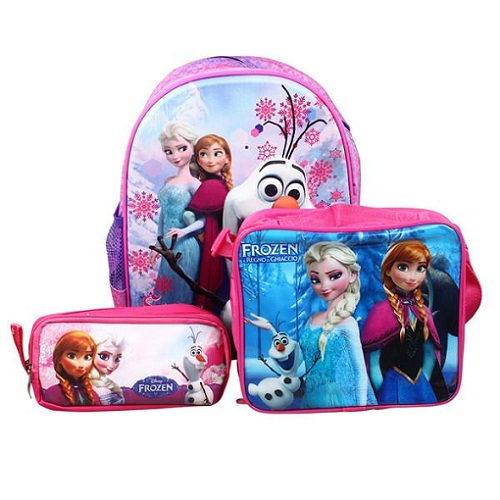 School Bag With Lunch Kit