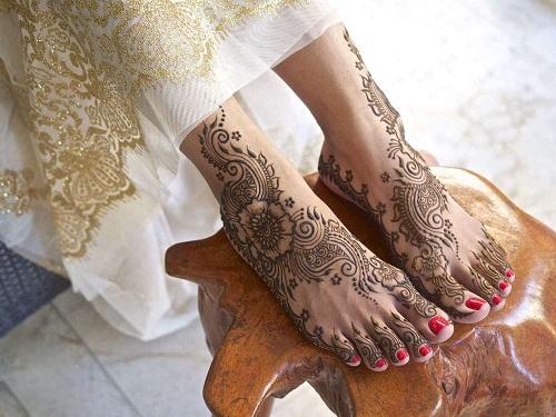 Summer Mehendi Designs