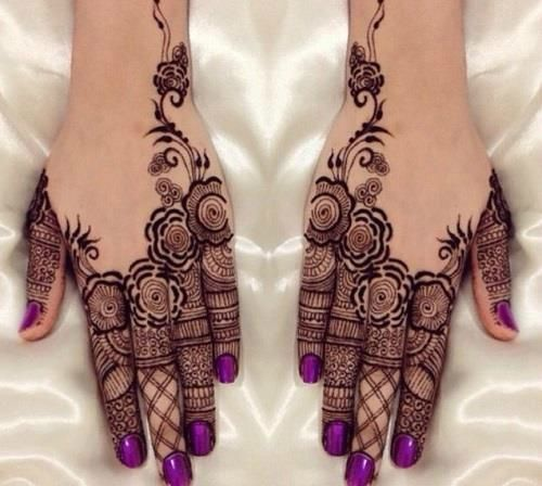 Navratri Mehendi Designs With Pictures  Our Top 9