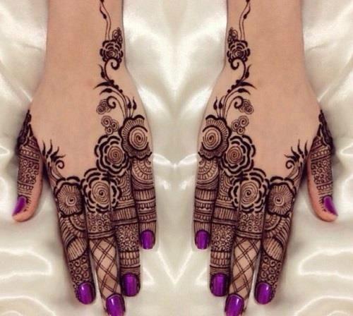 The Pakistani Henna Art